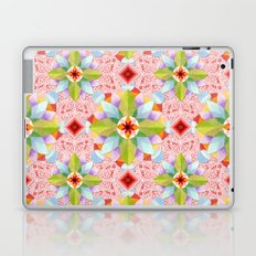 Pink Paisley Flowers Laptop & iPad Skin