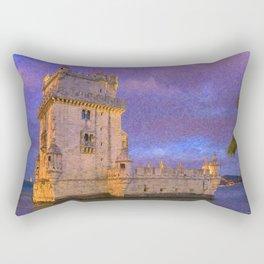 Torre de Belem, Lisbon Rectangular Pillow