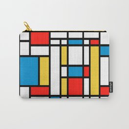 Tribute to Mondrian No2 Carry-All Pouch