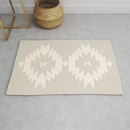 Southwestern Minimalism - White Sand Rug
