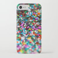 confetti iPhone & iPod Cases featuring Confetti by Laura Ruth