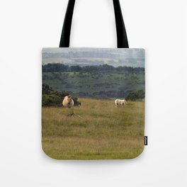 Wild Ponys in Cornwall Tote Bag