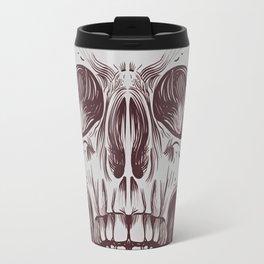 Front Skull Travel Mug
