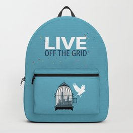 Live off the grid-Life-lifestyle-Healthy Backpack
