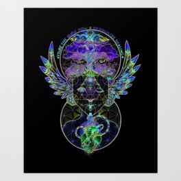 Visualize Healing Art Print