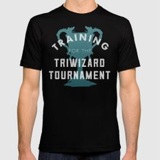 Training: Triwizard  Cup Mens Fitted Tee Black X-LARGE