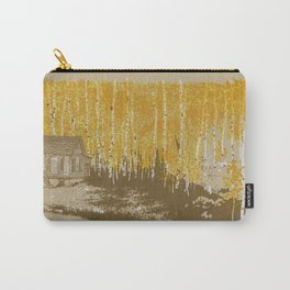 House in an Aspen Clearing Carry-All Pouch