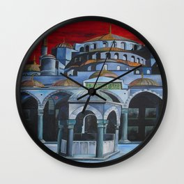 Sultan Ahmed Mosque, Istanbul  Wall Clock