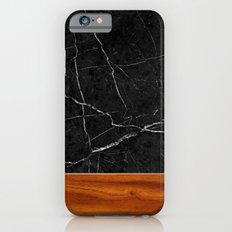 Marble and Wood Slim Case iPhone 6s