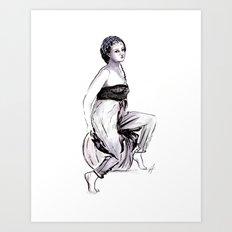 Gypsy Lover Art Print