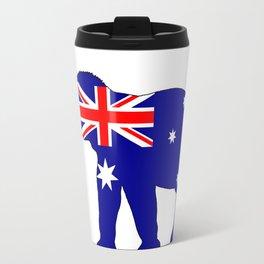 Australian Flag - Elephant Travel Mug