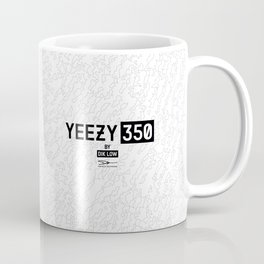 YEEZYS 350 Boost Sneakers Art Coffee Mug