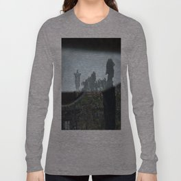 Jesus Reflected. Phat Diem, Vietnam. Long Sleeve T-shirt