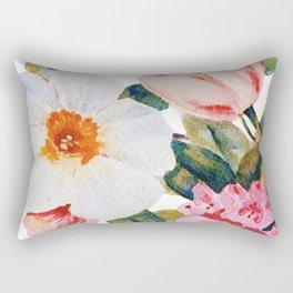 Loose Spring Bouquet Rectangular Pillow