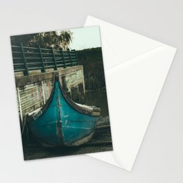Resting boat (color) Stationery Cards