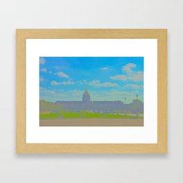 Paris Pastels Framed Art Print