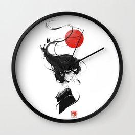 That One Geisha Wall Clock
