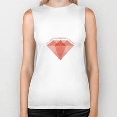 Refract My Light  Biker Tank