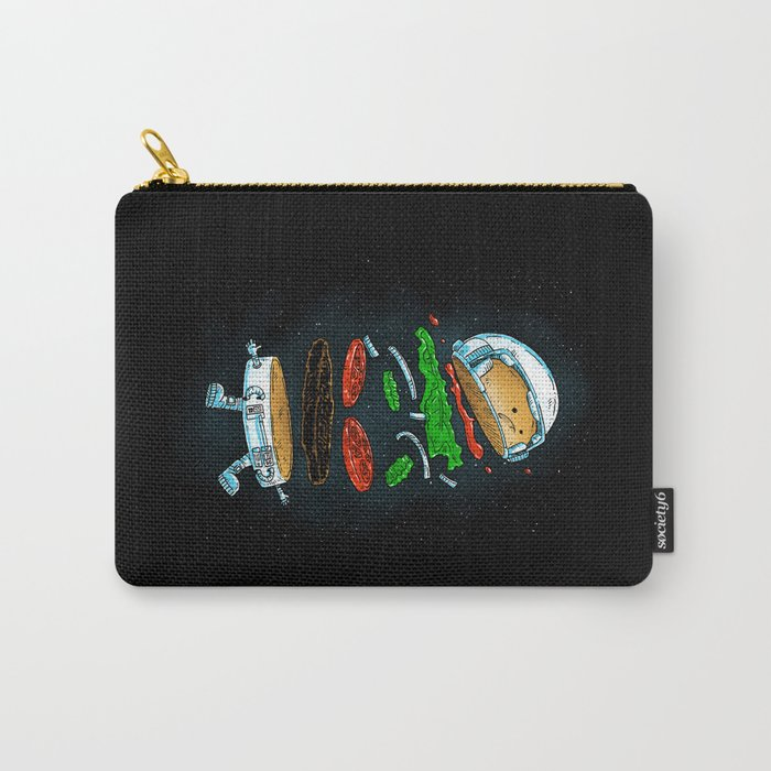 The Astronaut Burger Carry-All Pouch