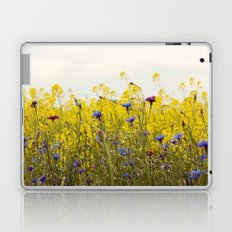 Yellow Wildflowers Laptop & iPad Skin