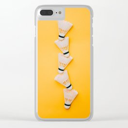 shuttlecocks for badminton Clear iPhone Case
