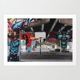 Toronto - Underpass Park Art Print