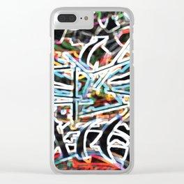 Trash Tiki4 Clear iPhone Case