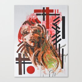 Green & Beauty Canvas Print