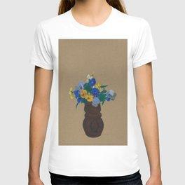 Odilon Redon - Pansies T-shirt