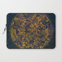 Vintage Constellations & Astrological Signs | Purple Galaxy Laptop Sleeve