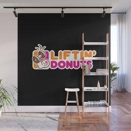 Liftin' Donuts Wall Mural