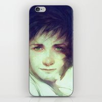hiccup iPhone & iPod Skins featuring Alpha by Anna Dittmann