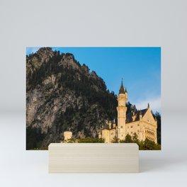 Neuschwanstein Castle Sunset - Bavaria - Germany Mini Art Print