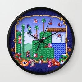 Mario Super Bros, Too Wall Clock