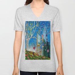 Fairy Artist Unisex V-Neck