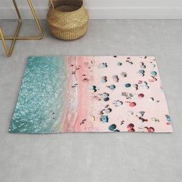 Ocean Print, Beach Print, Wall Decor, Aerial Beach Print, Beach Photography, Bondi Beach Print Rug