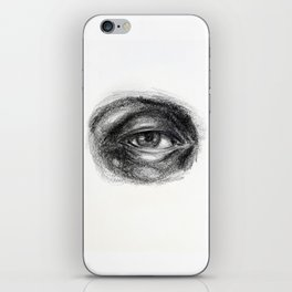 Eye study sketch 1 iPhone Skin