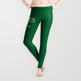 National flag of  the Kingdom of Saudi Arabia - Authentic version to scale and color Leggings