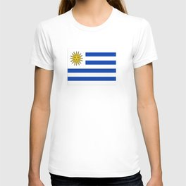 flag of Uruguay-Uruguyan,montevideo,spanish,america,latine,Salto,south america,paysandu,costa,sun,be T-shirt