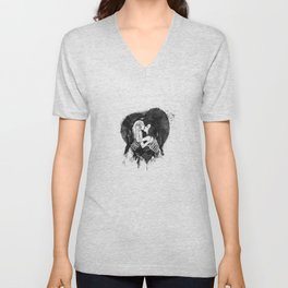 Love to the bones Unisex V-Neck
