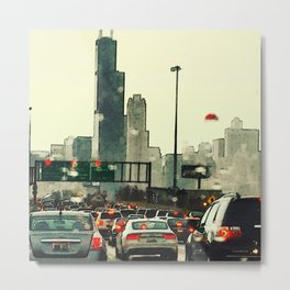 Friday Night Traffic #3 Metal Print