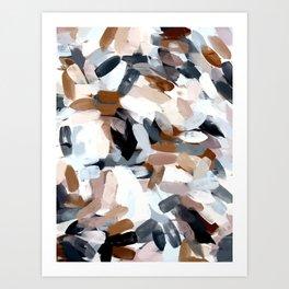 Dusty Beach Abstract Art Print