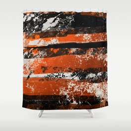 Earn Your Stripes! Shower Curtain