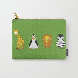 Geometric zoo Carry-All Pouch