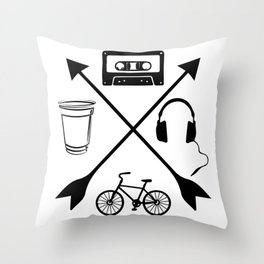 13 Reasons Why Throw Pillow