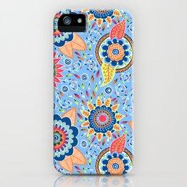 Henna Flowers iPhone Case