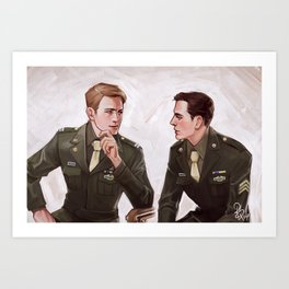 Two Kids from Brooklyn Art Print