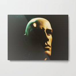 The Noble Mannequin Metal Print