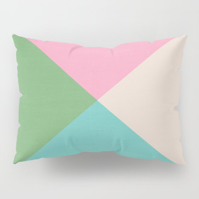 four triangles - joyful Pillow Sham