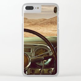 Hudson in the Dunes Clear iPhone Case